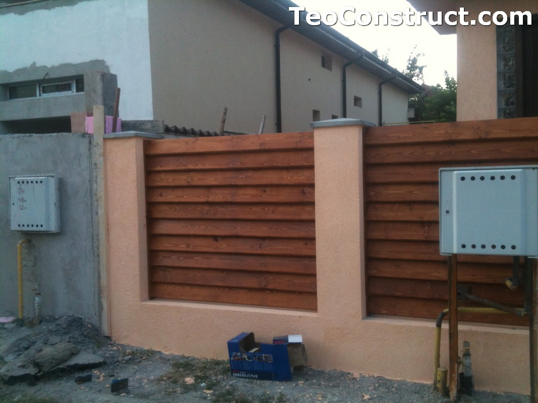 Preturi garduri de gradina din lemn Alexandria 16