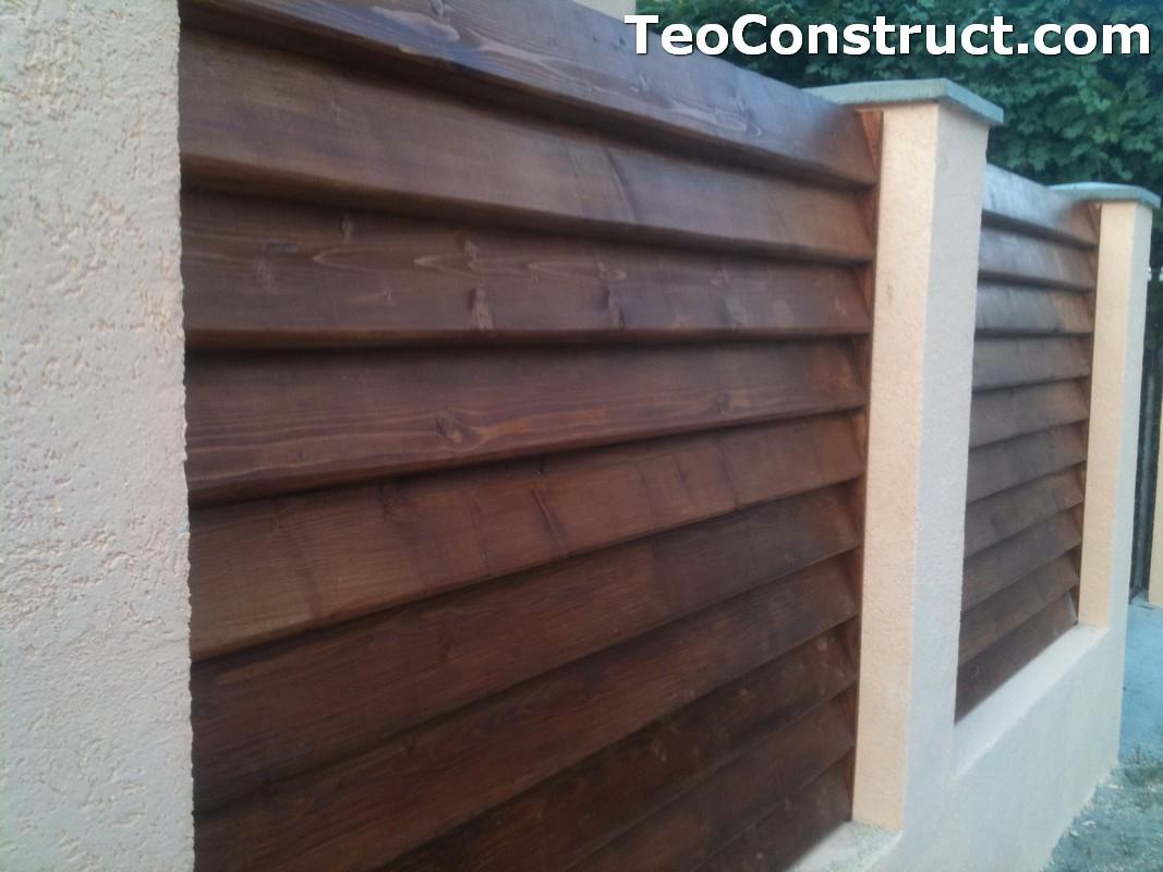 Preturi garduri de gradina din lemn Alexandria 17