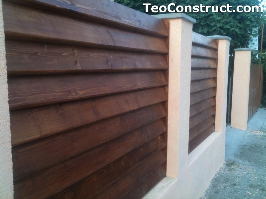 Preturi garduri de gradina din lemn Alexandria 18