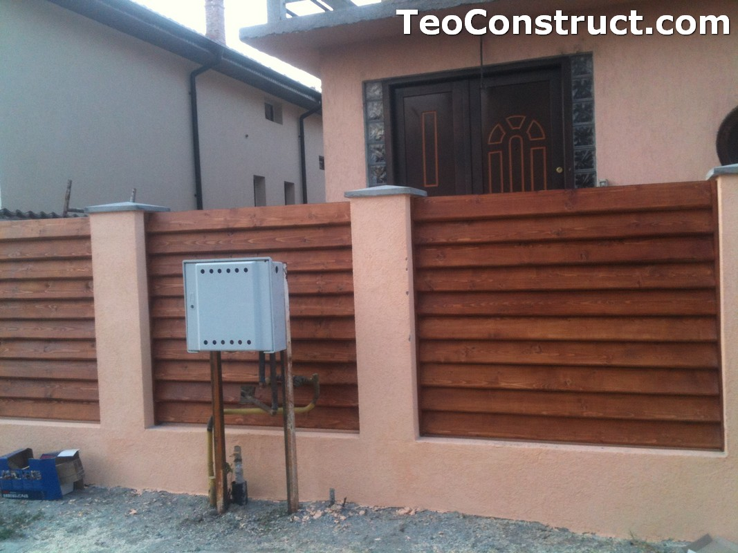 Preturi garduri de gradina din lemn Alexandria 2