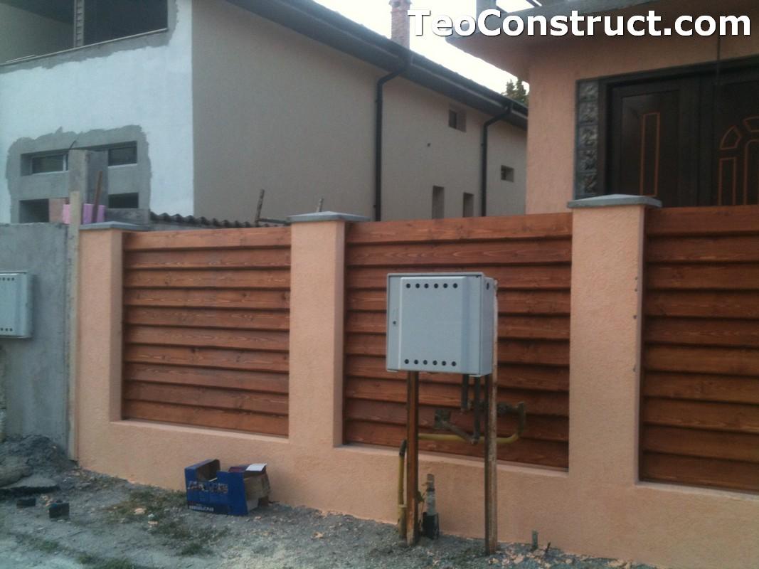 Preturi garduri de gradina din lemn Alexandria 3