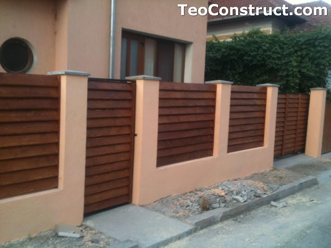Preturi garduri de gradina din lemn Alexandria 4