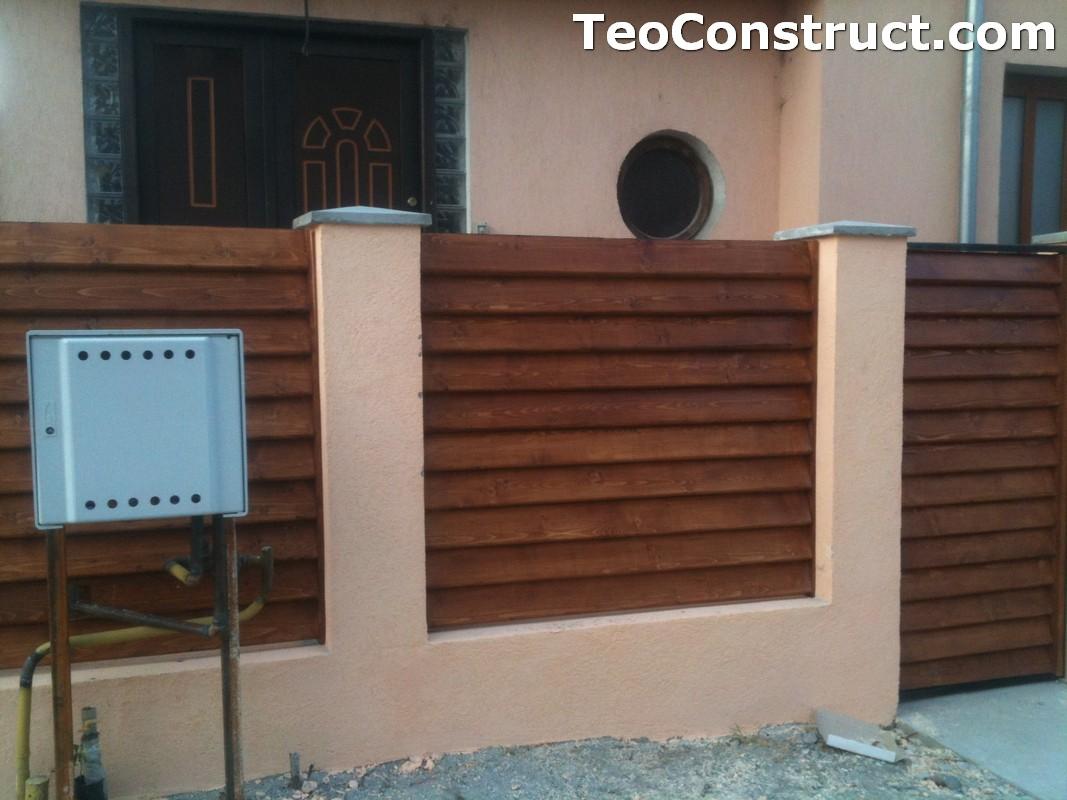 Preturi garduri de gradina din lemn Alexandria 6