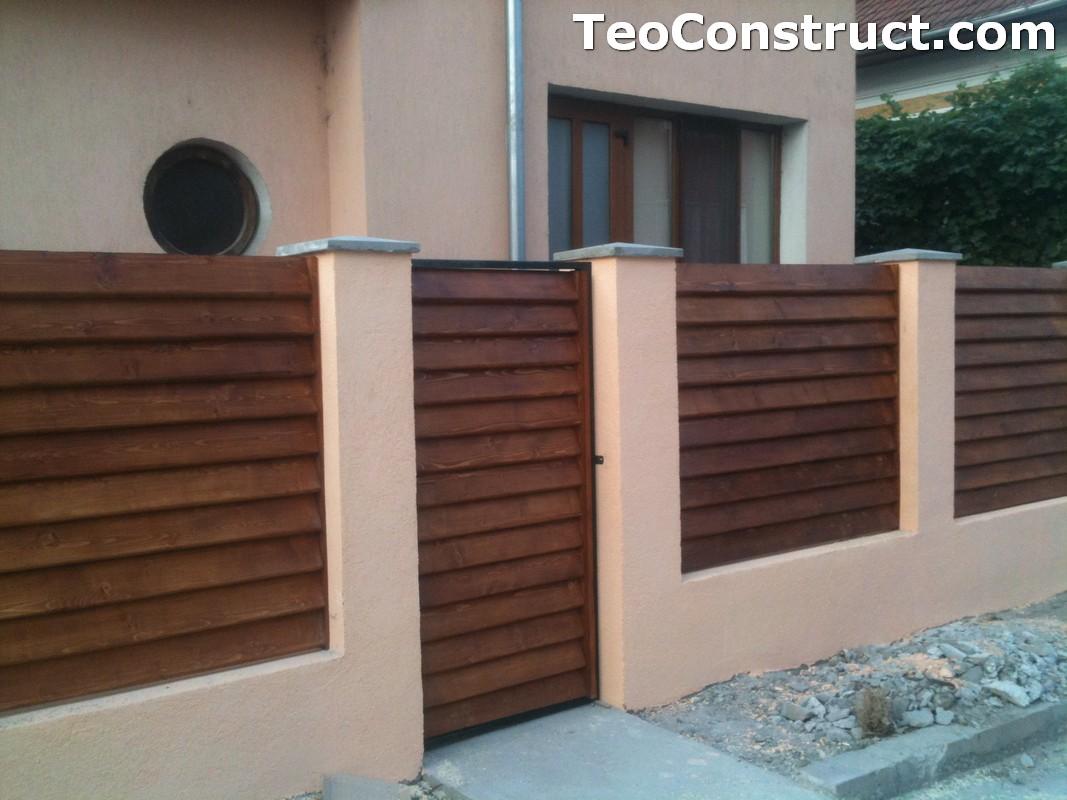 Preturi garduri de gradina din lemn Alexandria 7