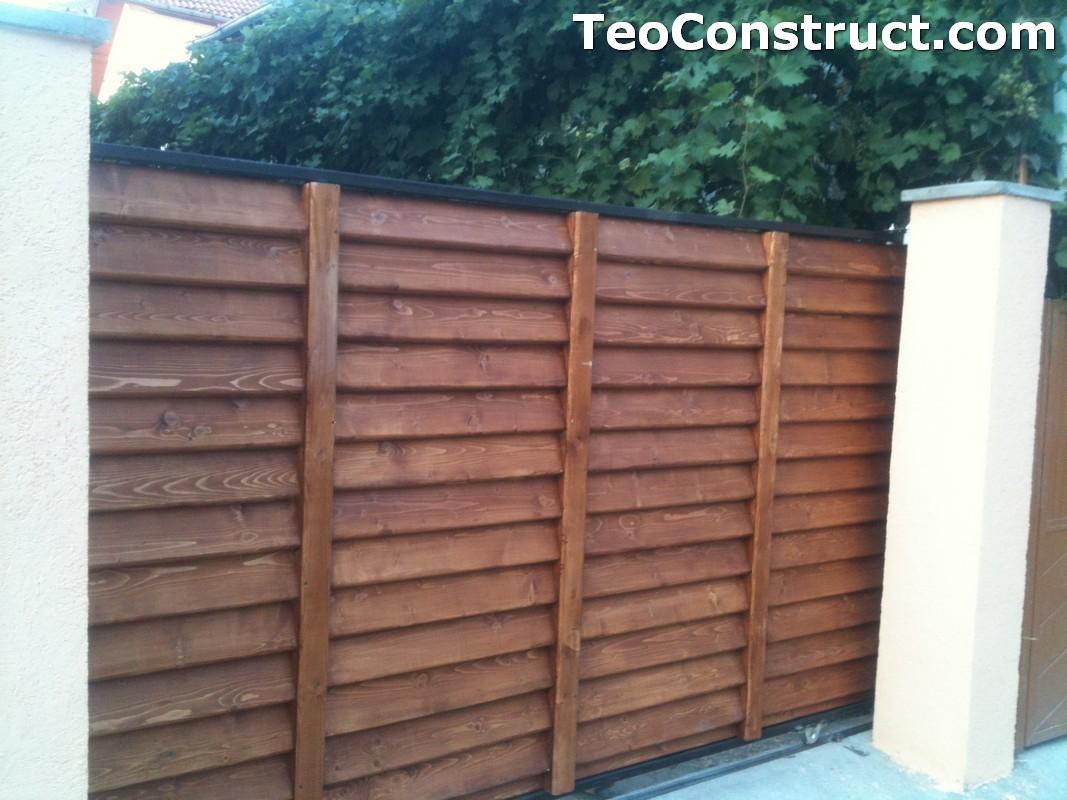 Preturi garduri de gradina din lemn Alexandria 8