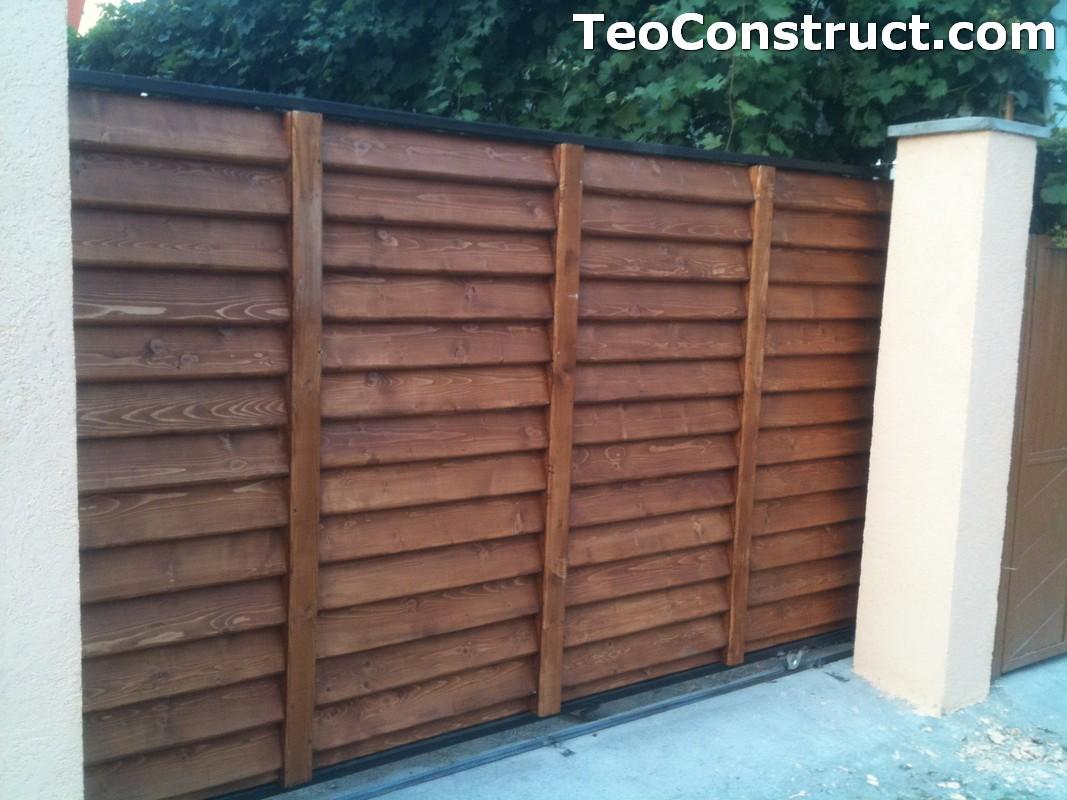 Preturi garduri de gradina din lemn Alexandria 9