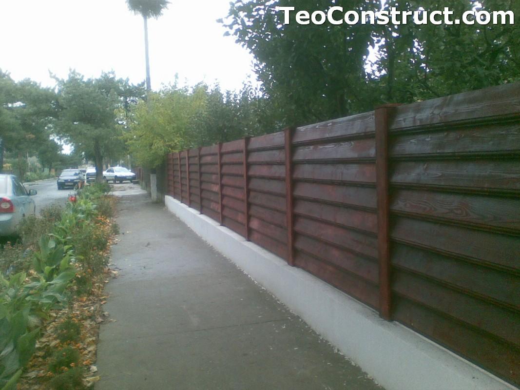 Preturi garduri de gradina din lemn Bucuresti 1