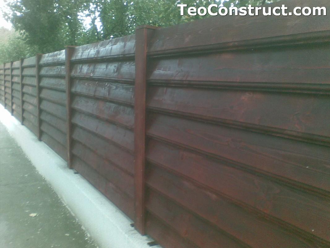 Preturi garduri de gradina din lemn Bucuresti 2