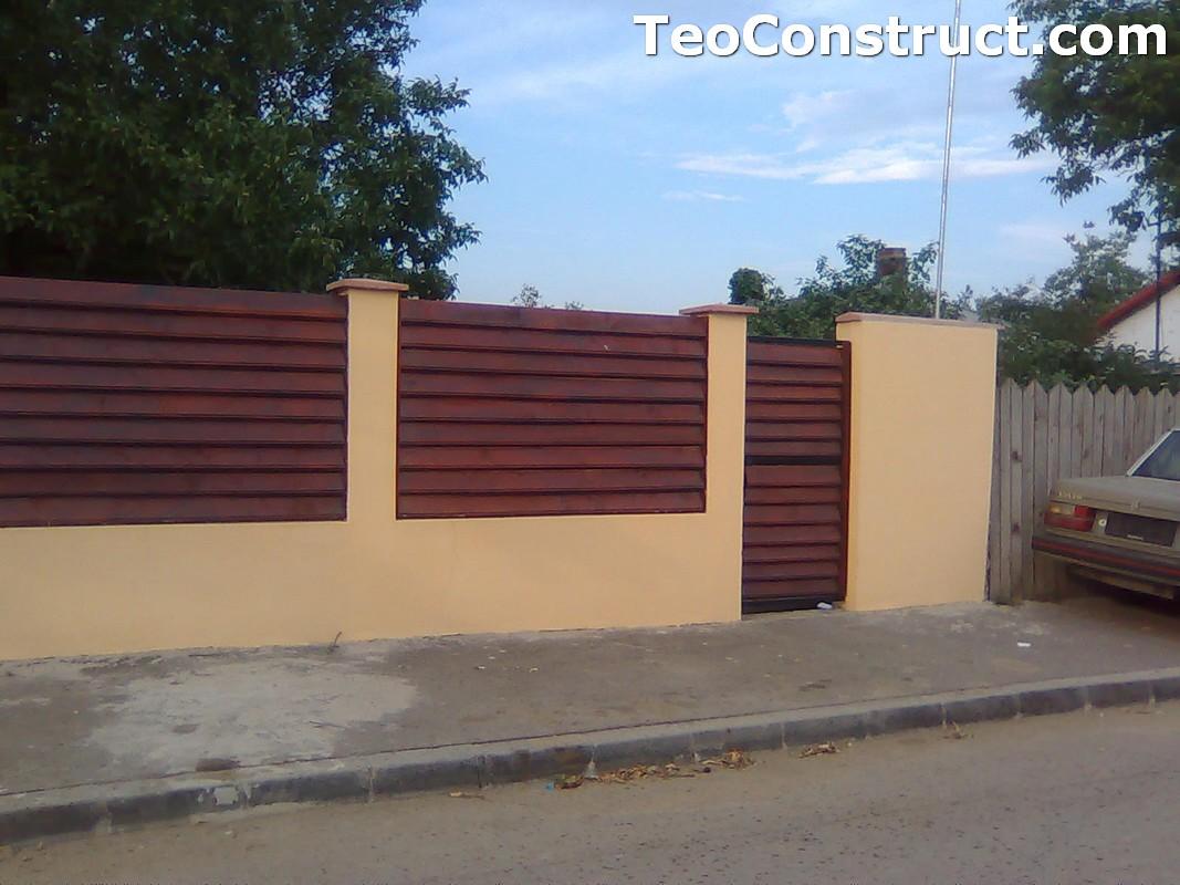 Stalpi pentru garduri din lemn 1