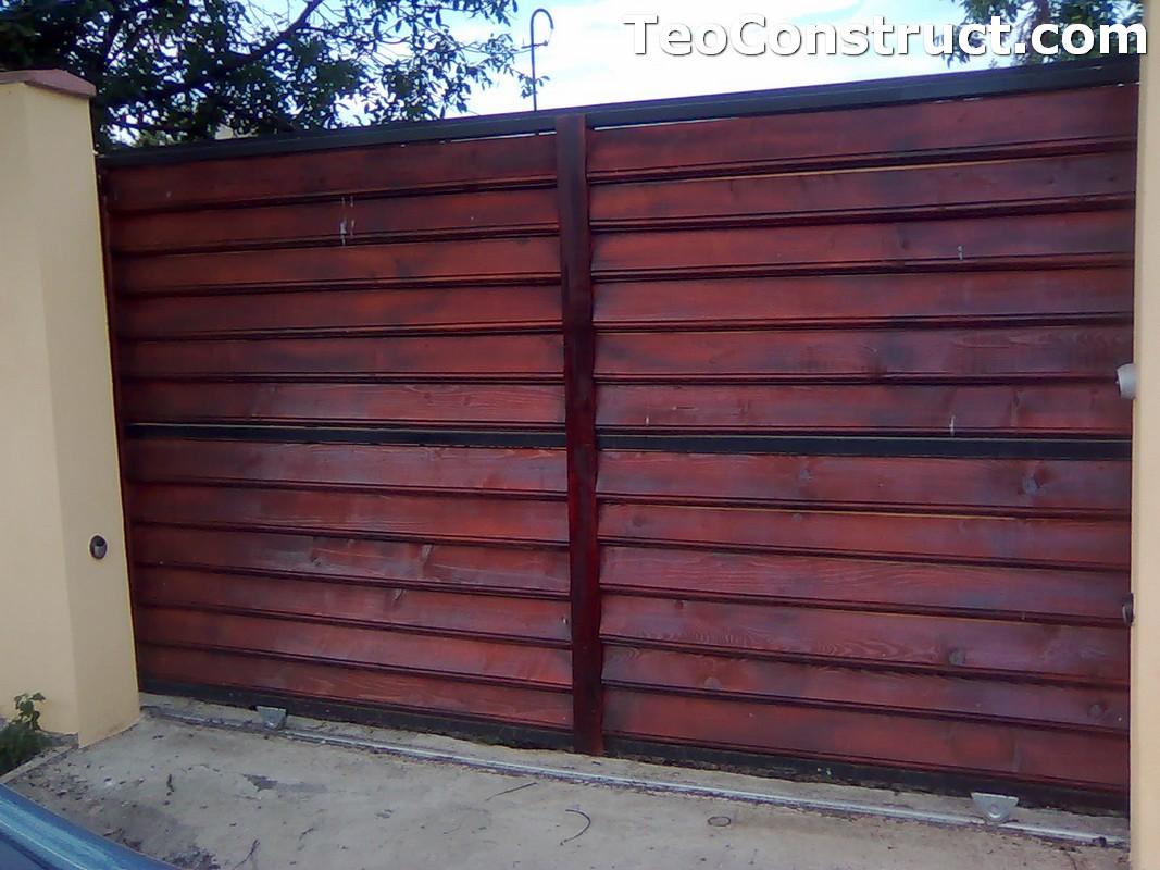 Stalpi pentru garduri din lemn 5