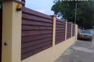Stalpi pentru garduri din lemn 6