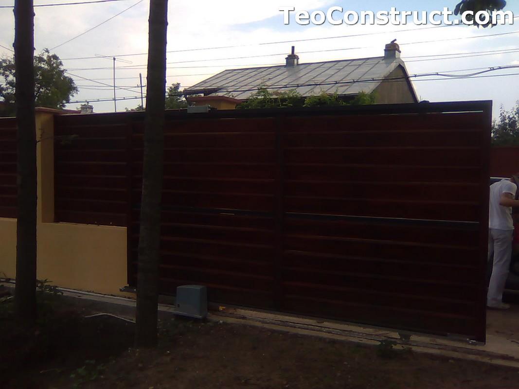 Stalpi pentru garduri din lemn 7