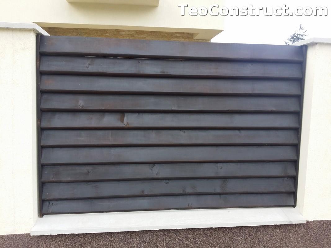 Stalpi pentru garduri din lemn Alexandria 8
