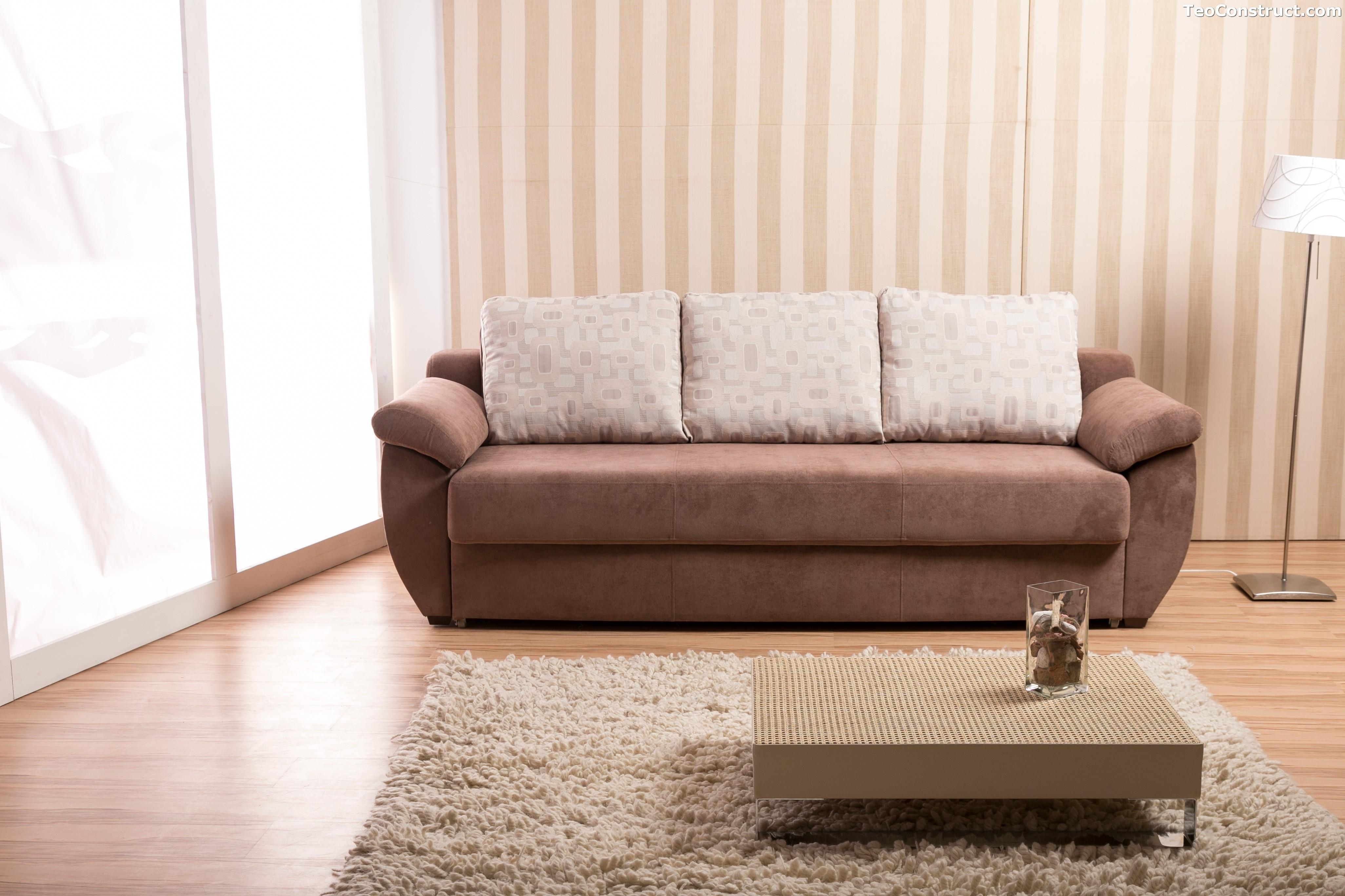 Canapea Alice extensibila din stofa 1