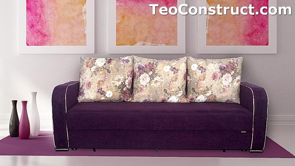 Canapea Blumen extensibila pentru casa 2