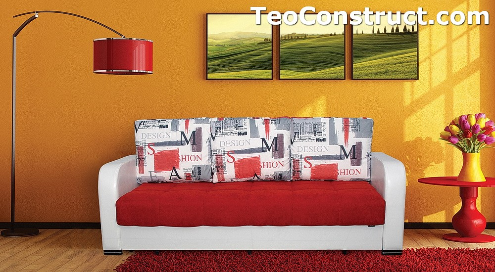Canapea Coral extensibila pentru casa 2