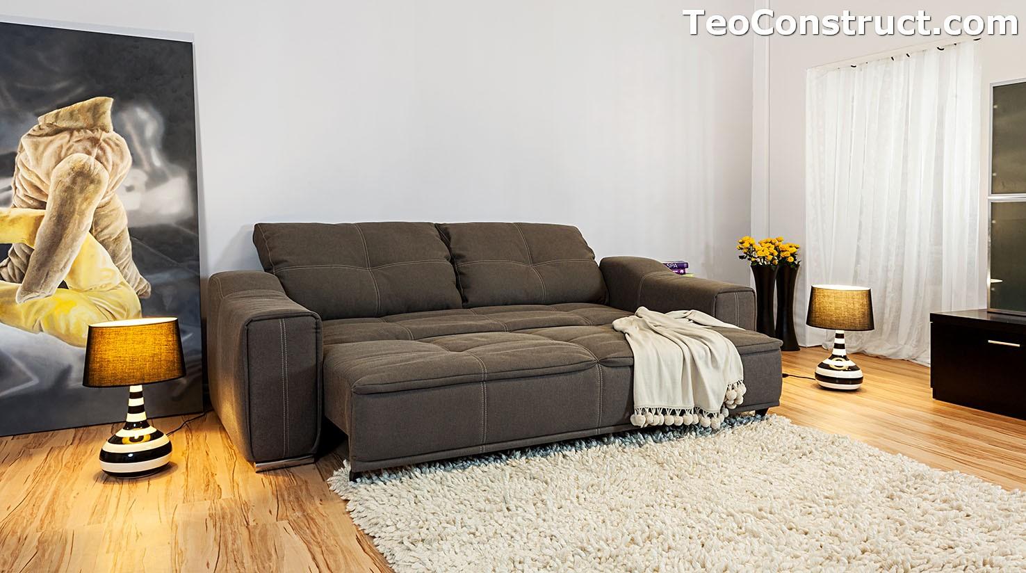 Canapea Isabela extensibila pentru living 4
