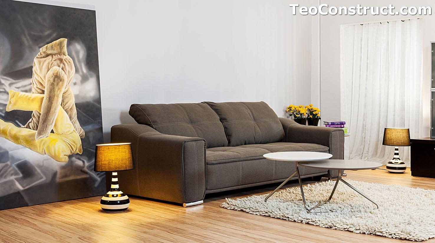 Canapea Isabela extensibila pentru living 6