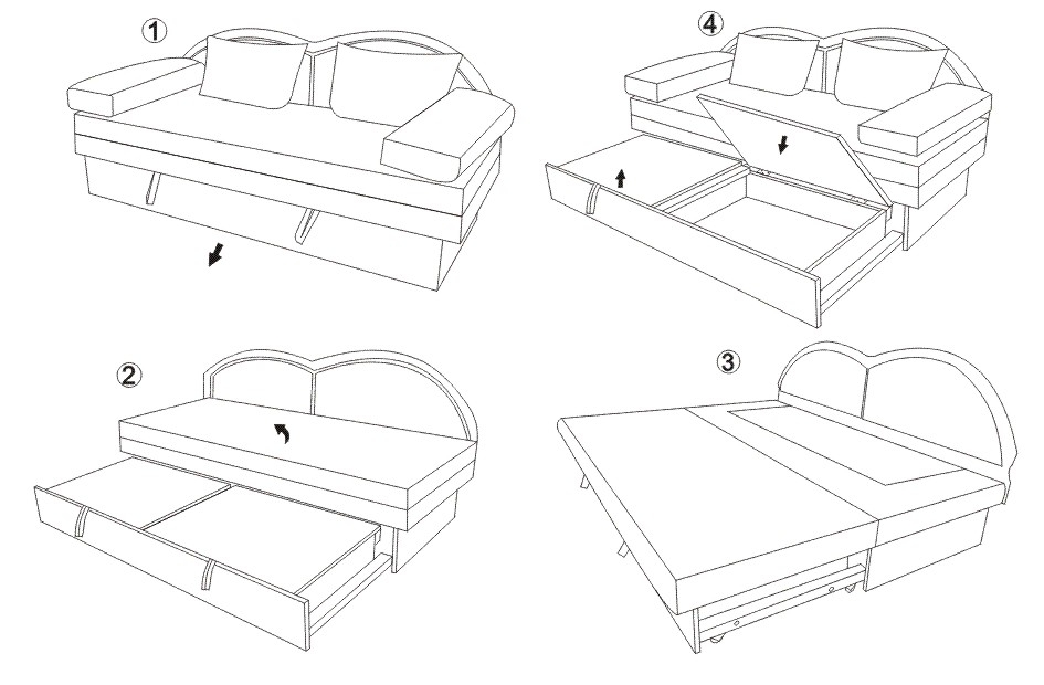 Canapea de sufragerie KOL COMFORT (2)