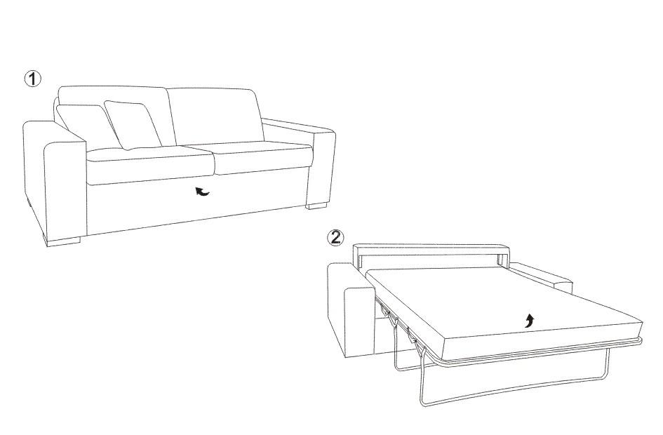 Canapea din lemn living KOL MIRTA (2)
