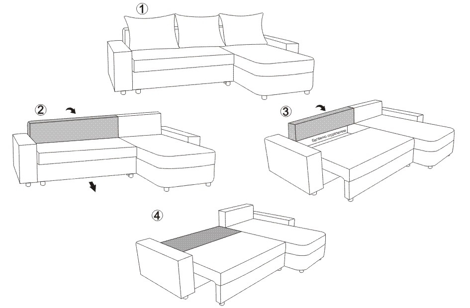 Coltare sufragerie extensibile KOL M11M Andreea (2)