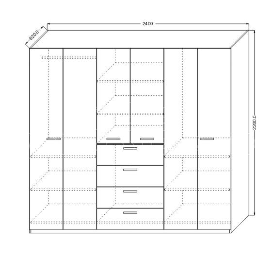 Dormitor ieftin KOL KARMEN (2)