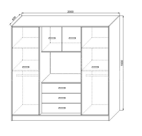 Dormitor matrimonial clasic KOL IRENA (2)