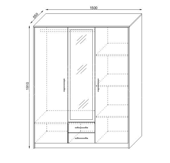 Mobilier de dormitor KOL A35K Constanta (6)