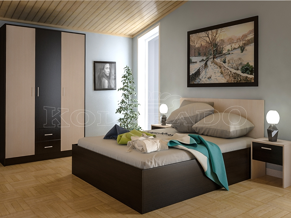 Model Dormitor tineret KOL ROSSI (1)