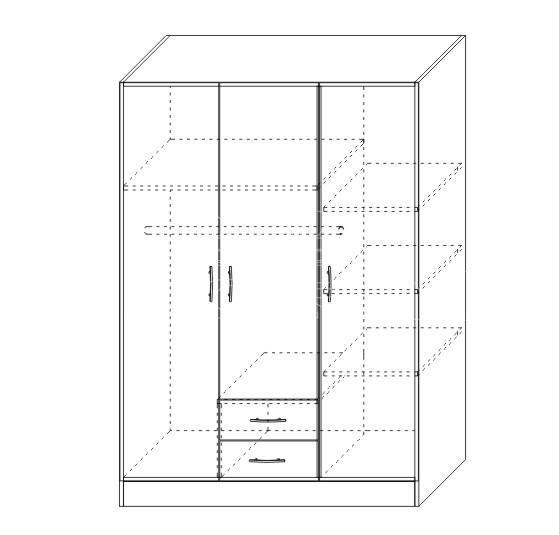 Model Dormitor tineret KOL ROSSI (5)