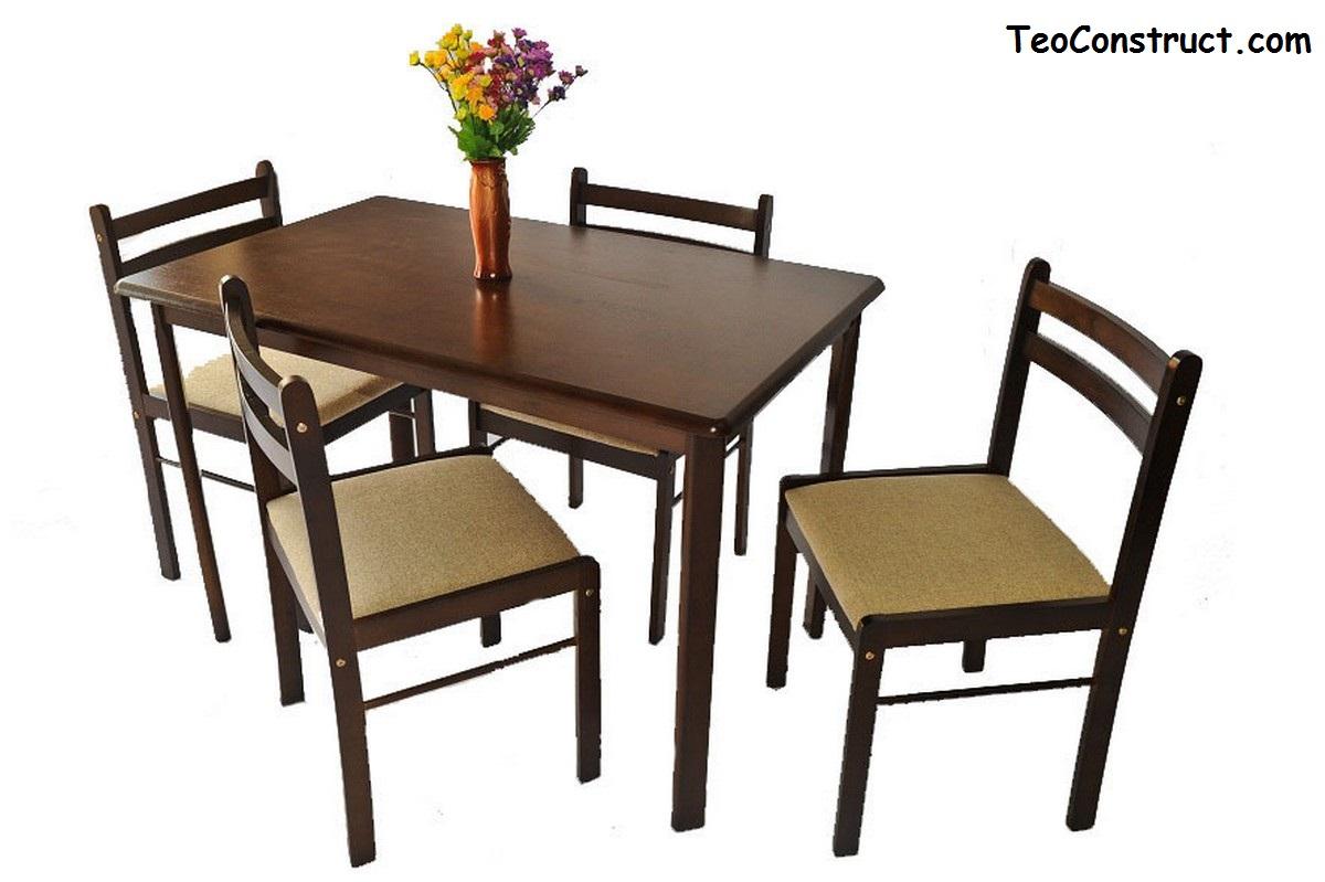 Set masa cu 4 scaune WIZ MB-1601