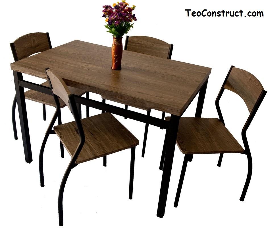 Set masa cu 4 scaune WIZ MBS-301