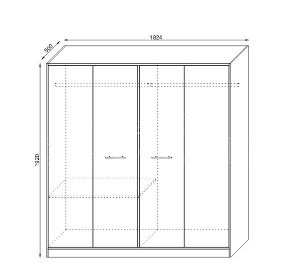 Set mobilier dormitor KOL MIRELA (6)