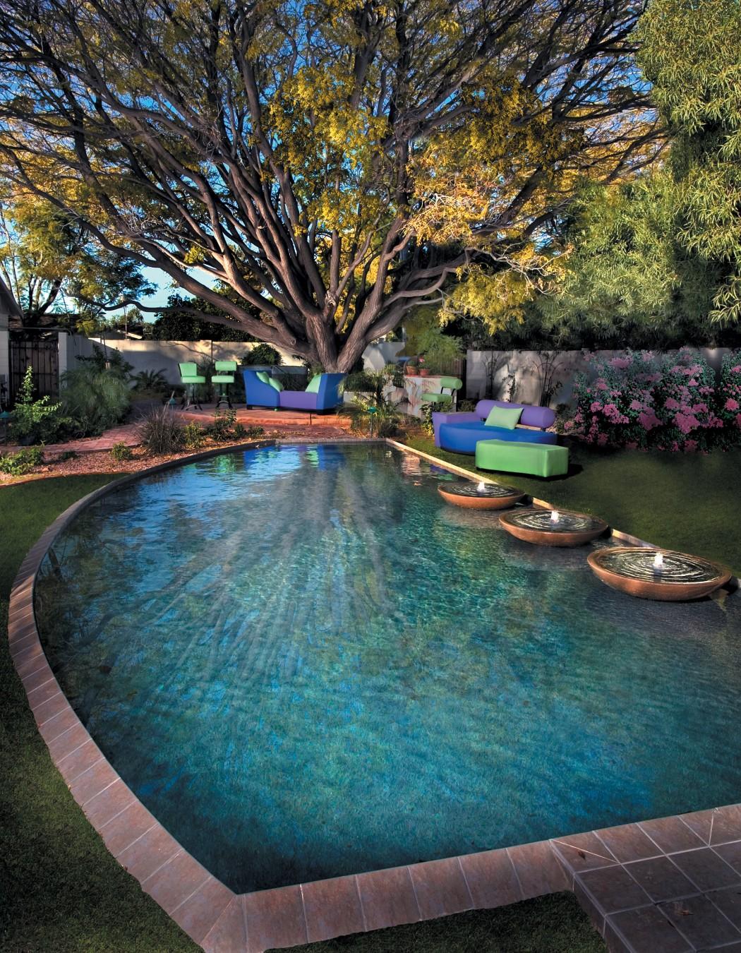 Amenajarea unei piscine intr un design modern foisoare for Cat costa intretinerea unei piscine