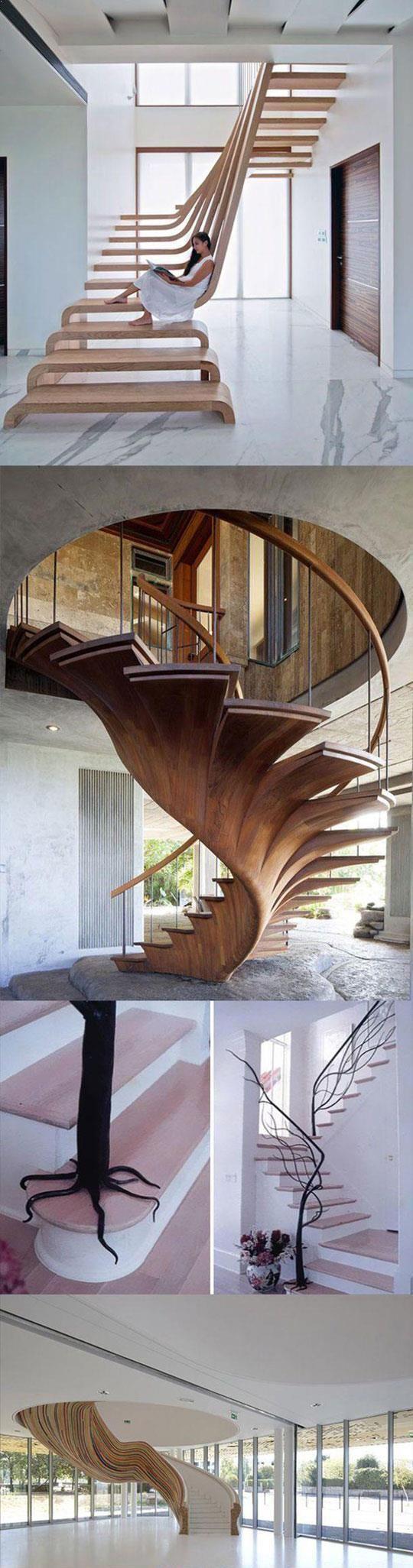 scari de mare efect pentru interioare cu pretentii