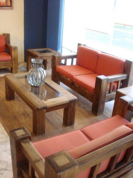 Mobilier pentru interior si exterior foisoare din lemn for Sillones de madera para sala modernos