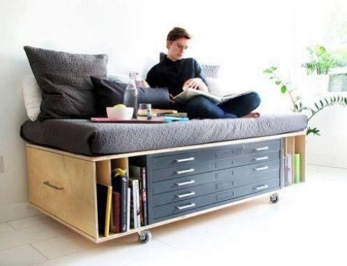 Un pat ideal pentru camera de tineret