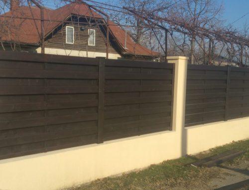 Gard modern tip matrice