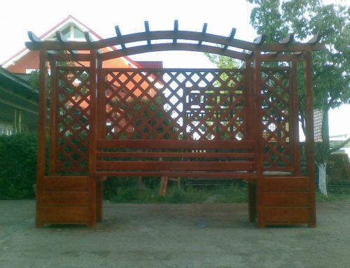 Pergole din lemn Targoviste