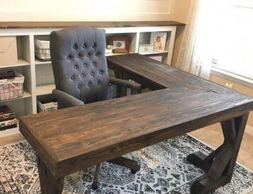 Mobila din lemn masiv, pentru birou
